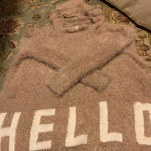 "Cozy Casual ""hello-bye"" soft sweater. So cozy"